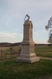 11th Massachusetts Monument