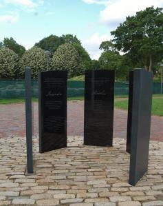 Prince Hall Monument, Cambridge Common, erected 2010