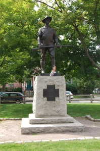 Theo Alice Ruggles Kitson, Spanish American War Memorial (The Hiker), Cambridge, MA