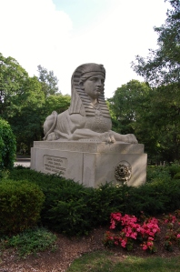 Martin Milmore, American Sphinx, Mount Auburn Cemetery