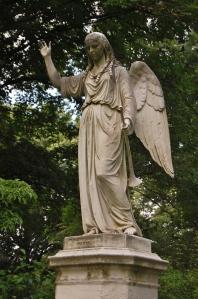 Martin Milmore, Angel of the Resurrection, Mount Auburn Cemetery