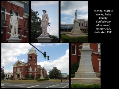 Butts County Confederate Monument